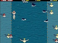Sharks vs swimmers online